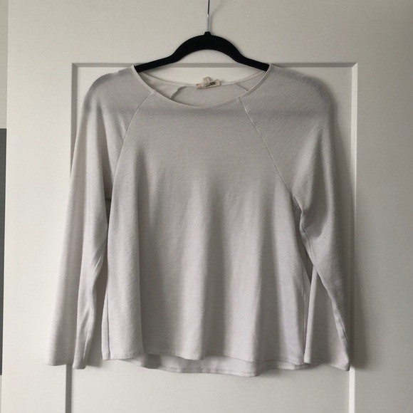 Wilfred Free white long sleeve